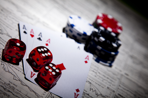 Chillekveld med kasinospill